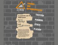 www.tietjezinn.de - Tietje Zinn, Maler und Betonbaumeister